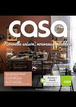 Prospectus Casa : Nouvelle saison, nouveaux meubles