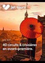 Promos et remises  : 40 circuits & croisières