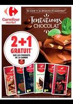 Prospectus Carrefour Market : Tentations chocolat