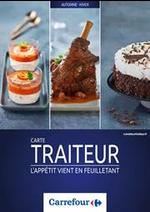 Prospectus Carrefour : Carte traiteur Automne Hiver