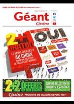 Prospectus Géant Casino : Tout le monde dit OUI aux économies