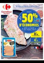 Prospectus Carrefour Market : Jusqu'à 50% d'économies