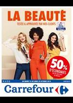 Prospectus Carrefour : La beauté testée et approuvée !
