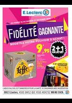 Prospectus E.Leclerc : Fidélité gagnante