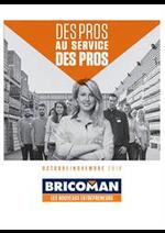 Prospectus Bricoman : Des pros au service de pros