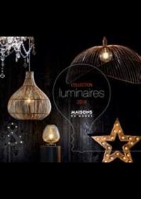 Prospectus Maisons du monde Rennes - St Grégoire : Collection Luminaires 2018