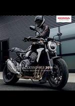 Prospectus Honda France : Accessoires 2018