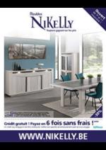Prospectus Meubles Nikelly : Découvrez nos nouvelles collections