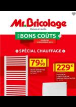 Prospectus Mr. Bricolage : Les bons coûts