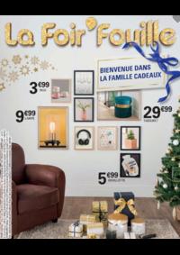 Prospectus La Foir'Fouille Mons - Quaregnon : Bienvenue dans la famille cadeau