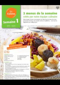 Menus Colruyt ANDERLECHT - VEEWEYDE :  2 menus pour la semaine