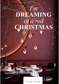 Catalogues et collections ZARA HOME BRUXELLES : I'm dreaming of a red christmas
