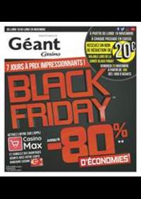 Prospectus Géant Casino EXINCOURT : BLACK FRIDAY