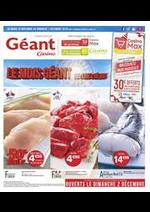 Prospectus Géant Casino : Le mois Géant de chez Géant