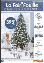 Prospectus La Foir'Fouille : Voyage pour fêter Noël