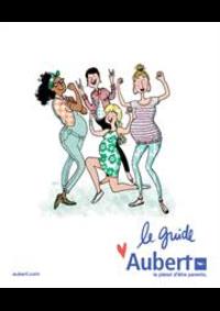 Prospectus Aubert PARIS : Le guide Aubert