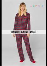 Prospectus Esprit : Lingerie & Nightwear