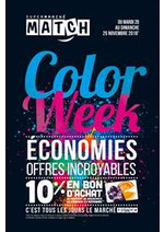 Prospectus Match : Color Week