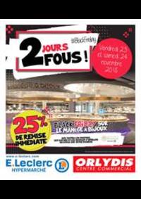Prospectus E.Leclerc ORLY : 2 jours fous