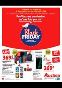 Prospectus Auchan Val d'Europe Marne-la-Vallée : Profitez-en, ça n'arrive qu'une fois par an !