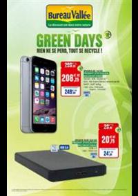 Prospectus Bureau Vallée - Montrouge : Green Days