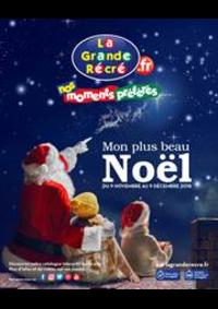 Prospectus La grande Récré THIAIS BP 420 : Mon plus beau Noël