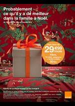 Prospectus  : Probablement ce qu'il y a de meilleur dans la famille à Noël