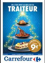 Prospectus Carrefour : On a tous droit au meilleur du traiteur
