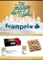 Prospectus Franprix : Place à la magie de Noël