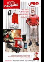 Prospectus PRO & Cie : 100% Cadeaux