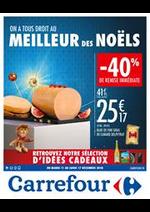 Prospectus Carrefour : On a tous droit au meilleur des noëls - idées cadeaux
