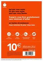Prospectus Franprix : Franprix vous livre gratuitement sans minimum d'achat