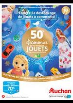Prospectus Auchan : Foncez, le destockage de Noël a commencé !