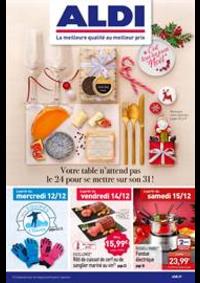 Prospectus Aldi Herbignac : C'est tous les jours Noël