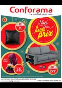 Prospectus Conforama ST NAZAIRE - TRIGNAC : Noël est plus Beau à petits prix