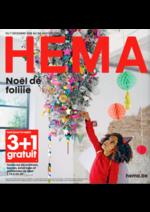 Prospectus Hema : Noël de foliiie