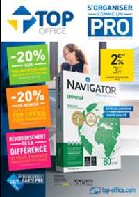Prospectus Top Office Bondy : S'organiser comme un Pro