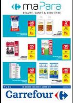 Prospectus Carrefour : Ma parapharmacie janvier