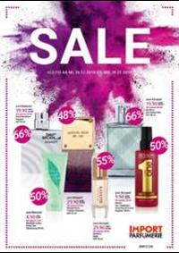 Prospectus Import Parfumerie : Sale Import parfumerie