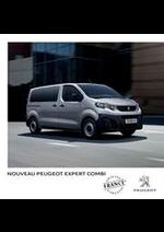 Prospectus Peugeot : Peugeot Expert Combi