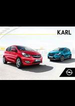 Prospectus opel : Opel Karl