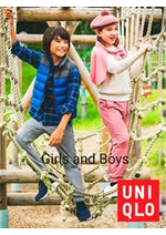 Prospectus Uniqlo : Uniqlo Girls and Boys