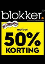 Prospectus BLOKKER : 50% korting