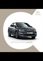 Prospectus  : Citroën C-Elysee