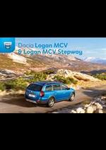 Promos et remises  : Dacia Logan MCV y Logan MCV Stepway