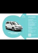Prospectus Citroen : Citroën E-Berlingo Multispace