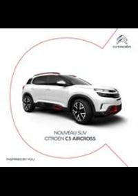 Prospectus Citroen MONTHUREUX SUR SAONE : Citroën C5 Aircross