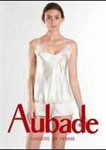 Prospectus Aubade : Nouvelle Nuisettes