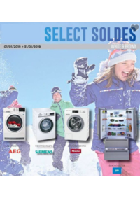 Prospectus Crea Home : Select soldes