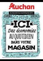 Prospectus Auchan : Des économies au quotidien